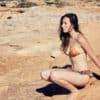 rusty silk bikini