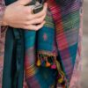 colourful wild silk scarf