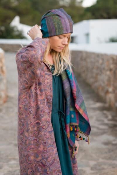hand woven scarf or sarong