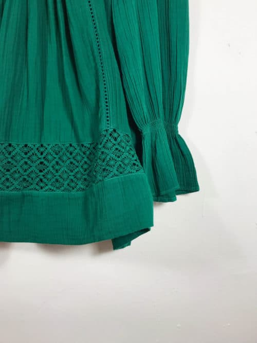 romanian lace tunic