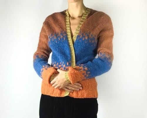 long sleeved wool cardigan