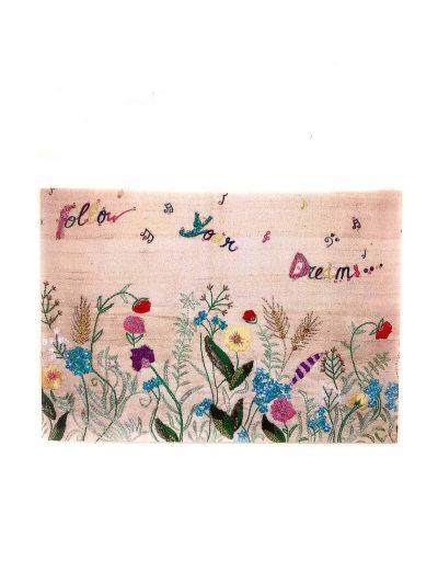 follow your dreams field in bloom